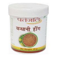 PATANJALI COMPOUNDED ASAFOETIDA (HING) 25.00 Gm Bottle