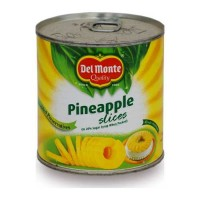 DEL MONTE PINEAPPLE SLICES 439 GM