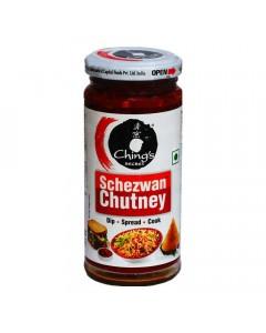 CHINGS SECRET SCHEZWAN CHUTNEY JAR 250G