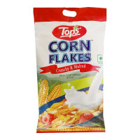 TOPS CORN FLAKES CRUNCHY 500.00 GM PACKET