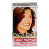 LOREAL EXCELLENCE 5 NATURAL BROWN COLOUR 72 ML+ 100.00 GM BOX