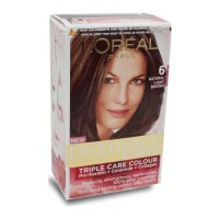 LOREAL EXCELLENCE 6 NATURAL LIGHT BROWN COLOUR 72 ML+ 100.00 GM BOX