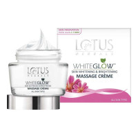 LOTUS HERBALS WHITE GLOW MASSAGE CREME 60.00 GM BOX