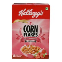 KELLOGGS CORN FLAKES REAL STRAWABERRY 275.00 GM BOX