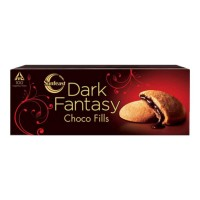SUNFEAST DARK FANTASY CHOCO FILLS BISCUITS 75.00 GM BOX