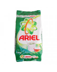 ARIEL DETERGENT POWDER 3.00 KG PACKET