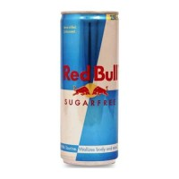 RED BULL SUGARFREE ENERGY DRINK 250.00 ML CAN