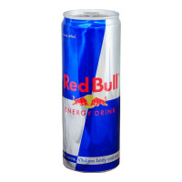 RED BULL ENERGY DRINK CAN 350 ML.