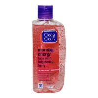 CLEAN & CLEAR MORNING ENERGY BERRY FACE WASH 100.00 ML BOTTLE