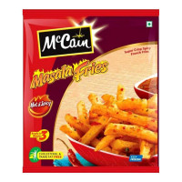 MCCAIN MASALA FRIES HOT & SPICY 375.00 GM PACKET