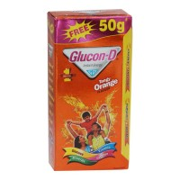 GLUCON D ORANGE 125 GM