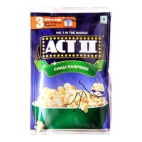ACT II CHILLI SURPRISE POPCORN 40.00 GM PACKET