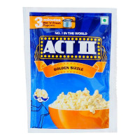 ACT II GOLDEN SIZZLE POPCORN 35.00 GM PACKET