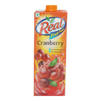 REAL CRANBERRY JUICE 1 LTR