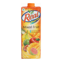 REAL MIXED FRUIT JUICE 1.00 LTR TETRAPACK