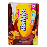 HORLICKS JUNIOR CHOCOLATE FLAVOUR STAGE 2 500.00 GM BOX