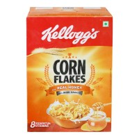 KELLOGGS CORN FLAKES REAL HONEY 300.00 GM BOX