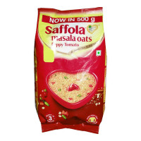 SAFFOLA MASALA OATS PEPPY TOMATO 500.00 GM PACKET