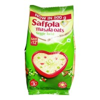 SAFFOLA MASALA OATS VEGGIE TWIST 500.00 GM PACKET