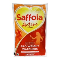 SAFFOLA ACTIVE OIL 1.00 LTR PACKET