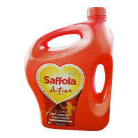 SAFFOLA ACTIVE OIL 5.00 LTR JAR