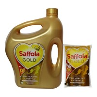 SAFFOLA GOLD  OIL 5.00 LTR JAR