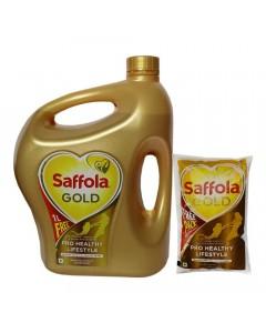 SAFFOLA GOLD  OIL 5.00 LTR JAR