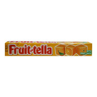 FRUIT-TELLA ORANGE CHEWY TOFFEE 45 GM PACKET
