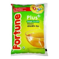 FORTUNE SOYA PLUS OIL 1.00 LTR PACKET