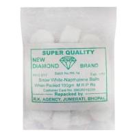 NEW DIAMOND NAPTHALENE BALLS 100.00 GM PACKET