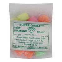 NEW DIAMOND NAPTHALENE COLOUR BALLS 100.00 GM PACKET