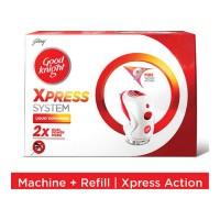 GOOD KNIGHT XPRESS SYSTEM MACHINE+REFILL 35.00 ML BOX