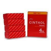CINTHOL ORIGINAL SOAP 4X 100 GM