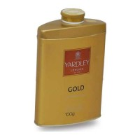 YARDLEY GOLD TALC 100.00 GM BOX