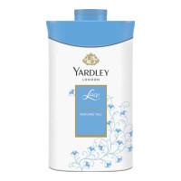 YARDLEY LACE PERFUMED TALC 100.00 GM BOX