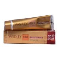 YARDLEY GOLD LATHER SHAVING CREAM 91.00 GM BOX
