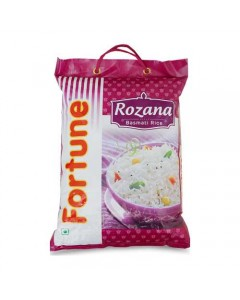 FORTUNE ROZANA BASMATI RICE 5.00 KG BAG