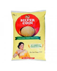SILVER COIN CHAKKI FRESH ATTA 10.00 KG BAG