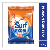 SURF EXCEL QUICK WASH DETERGENT POWDER 2.00 KG PACKET