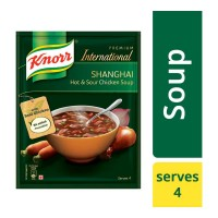 KNORR SHANGHAI HOT & SOUR CHICKEN SOUP 38.00 Gm Sachet