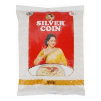 SILVER COIN SUJI 1.00 KG PACKET