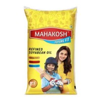 MAHAKOSH REFINED SOYA OIL 1 LTR  POUCH