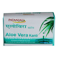 PATANJALI ALOE VERA KANTI BODY CLEANSER 150 Gm Bar