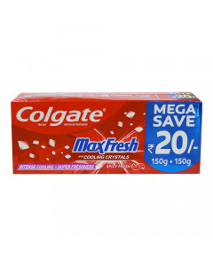 COLGATE MAXFRESH SPICY FRESH TOOTHPASTE 300 GM