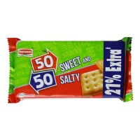 BRITANNIA 50- 50 SWEET & SALTY BISCUITS 80.00 GM PACKET