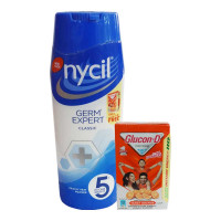 NYCIL GERM EXPERT CLASSIC PRICKLY HEAT POWDER 150.00 GM BOX