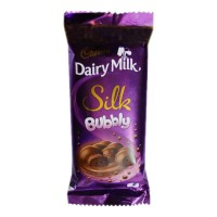 CADBURY DAIRY MILK SILK BUBBLY CHOCOLATE 50.00 GM PACKET