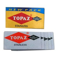 TOPAZ STANLESS MICRONISED BLADES 5.00 PCS PIECE