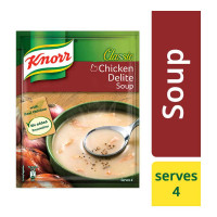 KNORR CLASSIC CHICKEN DELITE SOUP 44.00 GM PACKET