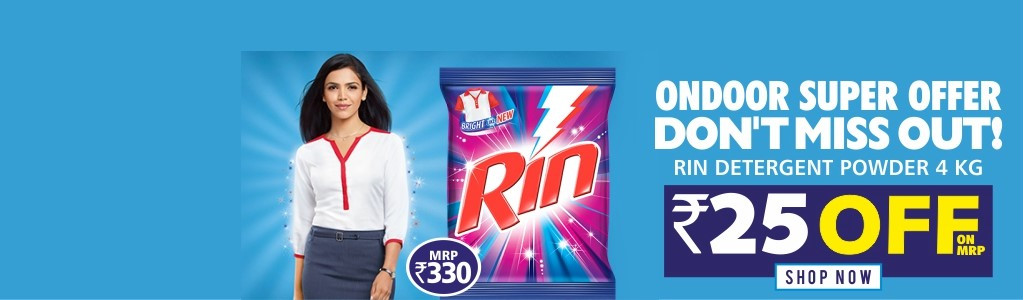 Rin Detergent 4Kg